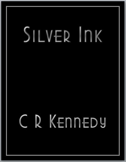 Silver Ink cover with border NO curser